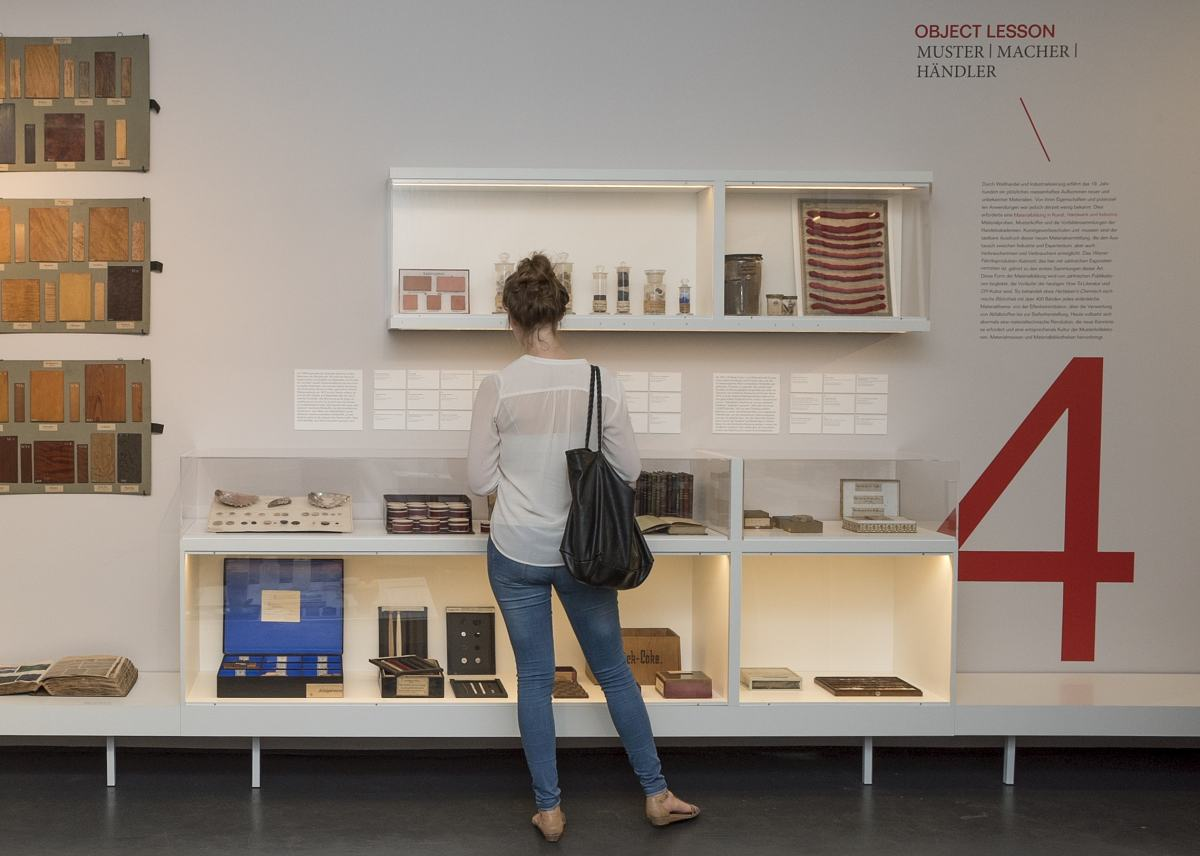 Blick in die Ausstellung Object Lessons, Lesson 4