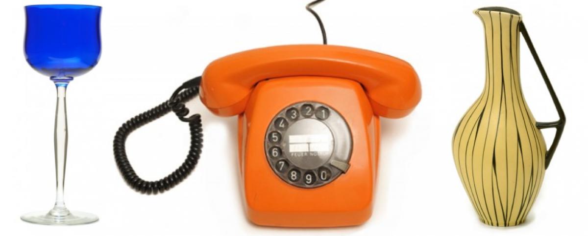 Dingpflegetag 2016 Jugenstilglas, Telefon, Vase