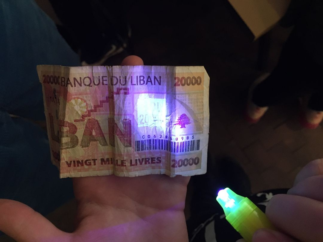 Foto Workshop Fake Geld