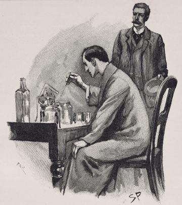 Sherlock Holmes, Illustration: Paget