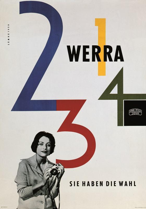 Werbeplakat für Werra von Klaus Lemke