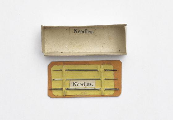 Detail aus Object Lesson Box, Needles. Foto: Armin Herrmann.