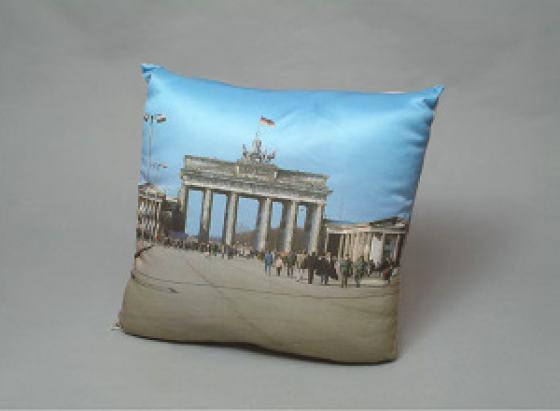 Souvenir-Kissen Brandenburger Tor