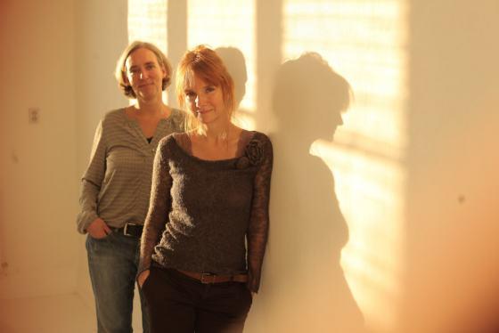 Die Aufraeumerinnen Sabine Krüpe und Ulrike Philipp