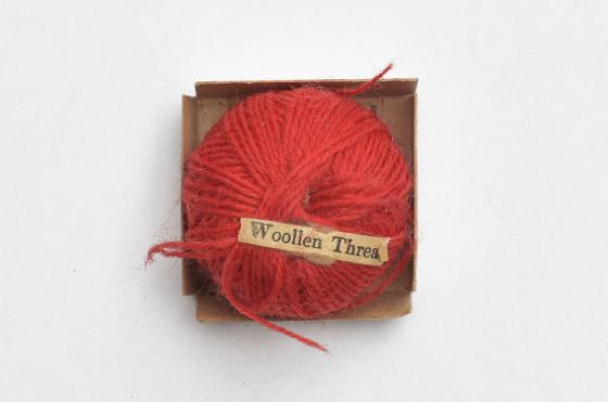 Detail aus Object Lesson Box, Woolen Thread