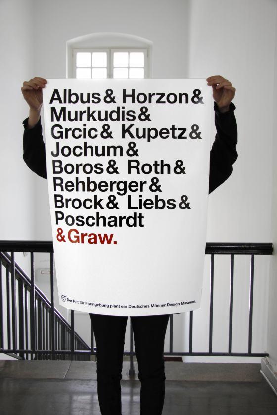 Marion Kliesch, Imaginäres Deutsches Design Museum, Poster