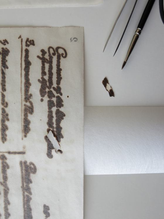 Muthesius Fragment Restaurierung, Sammlung Werkbundarchiv - Museum der Dinge