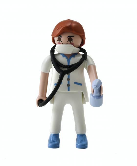 Playmobil-Figur Krankenpflegerin
